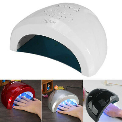 LED Nail Lamp 24W/48W Nail Gel UV Dryer SUNone Professional Art Manicure Kit UK