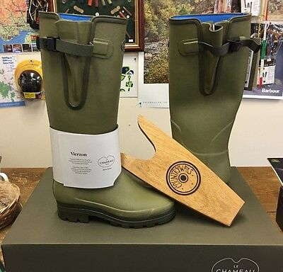 Le Chameau Vierzonord Neoprene Wellingtons With Free Boot Jack