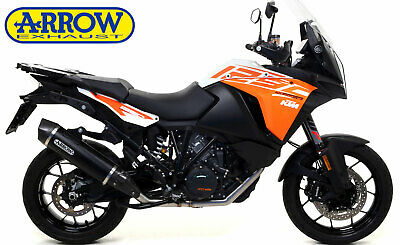 Auspuff Arrow Maxi Race Tech Allu Dark Für Ktm 1290 Super Adventure Euro4