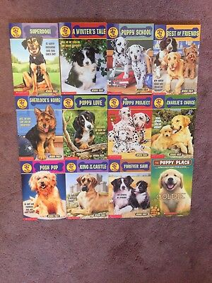 Lot of 12 Puppy Patrol & The Puppy Place Paperback Books Great Starter Set