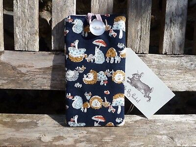 Handmade Hedgehog Glasses Cover Case Spectacles Case Woodland Animal Pouch