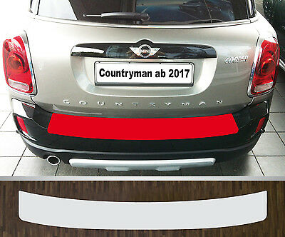 Clear Protective Foil Bumper Protection Transparent Mini Countryman, from 2017