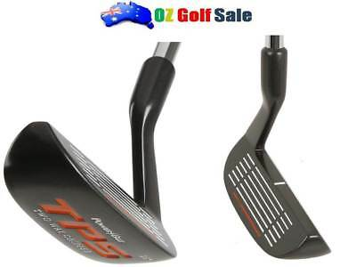 POWERBILT GOLF TPS 2-Way TWO-WAY CHIPPER 36* w/ STEEL SHAFT+RUBBER GRIP 35.5""