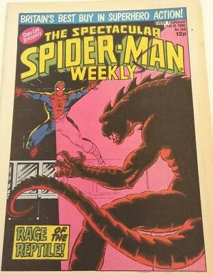The spectacular spiderman weekly (1980) #358
