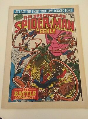 the spectacular spiderman weekly (1980) issue #368