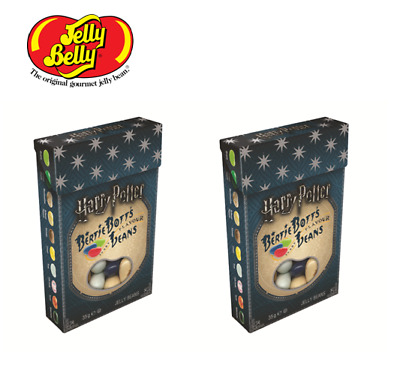 2 Boxes Harry Potter Bertie Bott's Every Flavour Beans 1.2oz 34gr. Jelly Belly