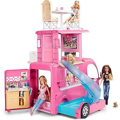 NEW AND SEALED Barbie Pop-Up Camper Playset Free Shipping barbies not included.