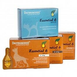 Dermoscent Essential 6 Chien de 20 à 40kg - 4 pipettes