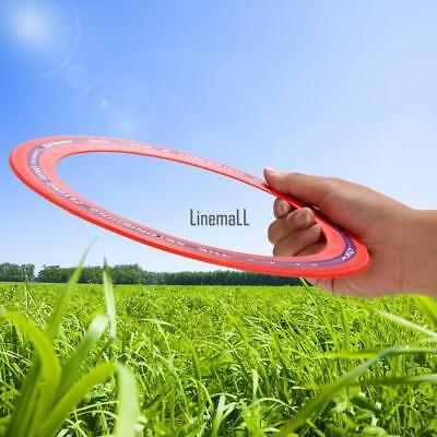 Sporting Flying Disk Disc Big Frisbee 9.8'' Outdoor Play Toy Classic Ring Shape