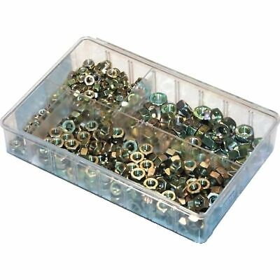 Assorted Steel Nuts Sizes: M6-M12