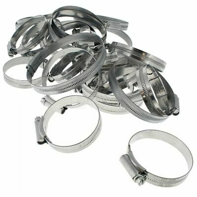 Hose Clips Large Sizes, JUBILEE, Sizes 60-100mm, Assorted Pack of 25