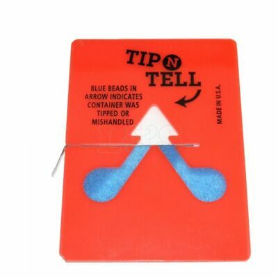 Tip-n-Tell Label Tip Over Indicating Label