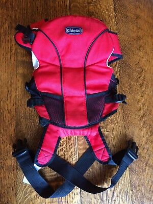 Chicco Go Baby Carrier red marsupio