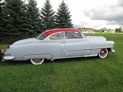 1951 Cadillac DeVille  1951 CADILLAC customized COUPE DEVILLE OLD SKOOL-rat rod-rockabilly-cruser