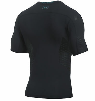 Under Armour HeatGear Armour Zone Compression T-Shirt Mens Unisex Thermal Base