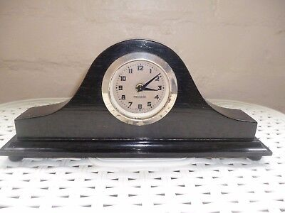 Ebony Mantle Clock