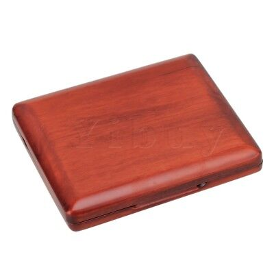 Beautiful Wooden Oboe Reed Box Hold 10 pcs Reeds Strong Reed Case Red