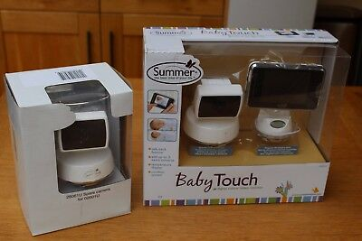 Summer Infant Baby touch monitor and extra camera - Broken screen but functional