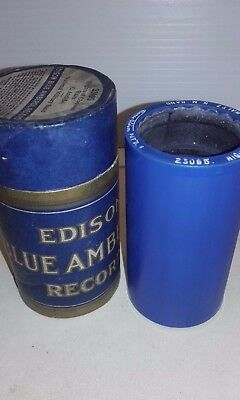 Vintage cylinderBlue Amberol Edison Tube # 23095