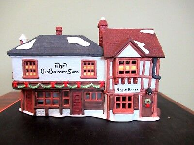 "Dept 56 Heritage Village Collection ""The Old Curiosity Shop"" (pre-owned) NICE!"
