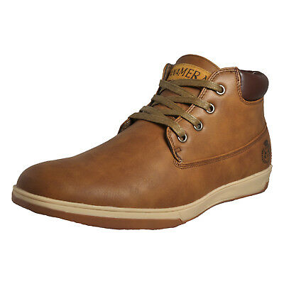 Premier Panamera Men's Comfy Casual Chukka Lace Ankle Desert Dress Boots Brown