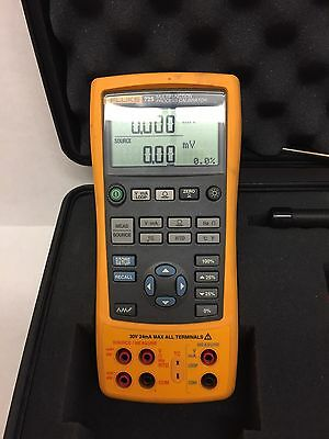 Fluke Multifunction 725 Process Calibrator with Pelican Carry Case