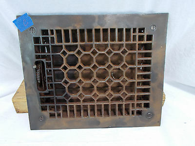Antique Vintage Craftsman Cast Heat Grate Register Vent Architectural Salvage C