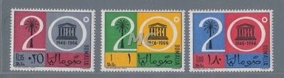 MC 1966 Somalia Unesco MNH**