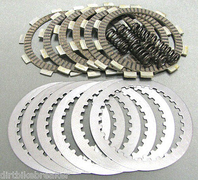 Yamaha RD 250 & 350 LC ( 1980 1981 1982 ) Complete Clutch Plate & Spring Kit