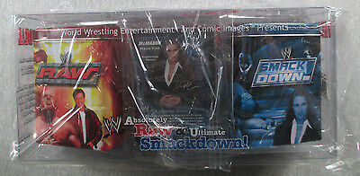 Absolutely Raw & Ultimate Smackdown Tin Deck Box Set - WWE Raw Deal ccg