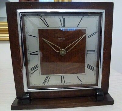 Vintage Smiths Mantel Clock 1940s
