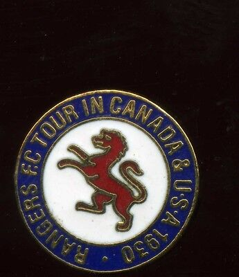 Glasgow Rangers Gers canada tour Pin Badge