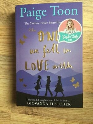 Zoella Book Club 2016 The One We Fell In Love With **New**