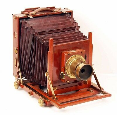 Vintage Thornton Pickard 5X7 Imperial Field Camera with Dallmeyer Lens