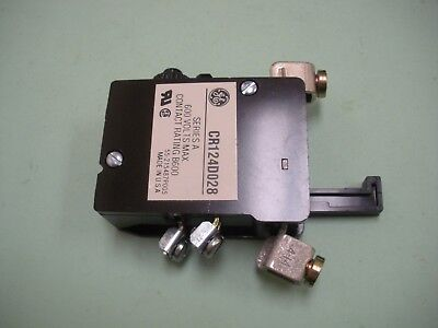 General Electric Overload Relay CR124D028