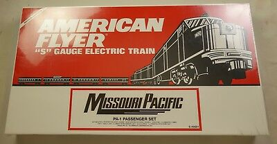 American Flyer #6-49601 Missouri Pacific Pa-1 Pass. Set-New In Sealed Box!!