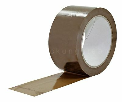 ( eur. 0,02 / m-eur 0,03/M) Tape Packing pvc-200 50mm x 66m Low Noise Brown