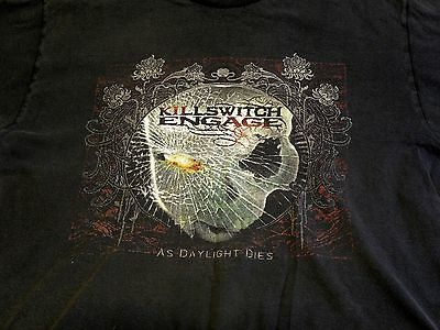 Killswitch Engage As Daylight Dies T-shirt Size Large