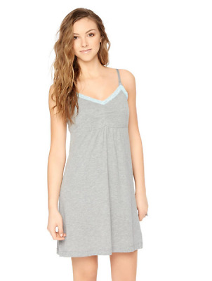 SALE!!! NWOT Bump in the Night Nursing Nightgown- Gray / Baby Blue Size Small