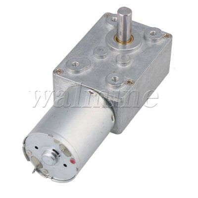 DC 12V 62RPM Electric Power High Torque Turbo Reducer Motor Right Angle Gear