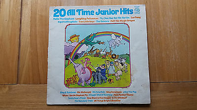 20 All Time Junior Hits vinyl record