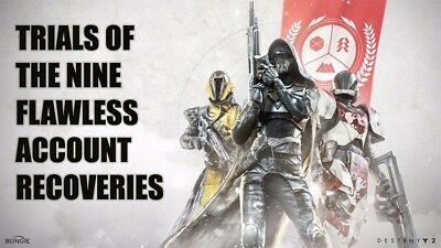 Destiny 2 Trials of the Nine Flawless Run (Xbox One)