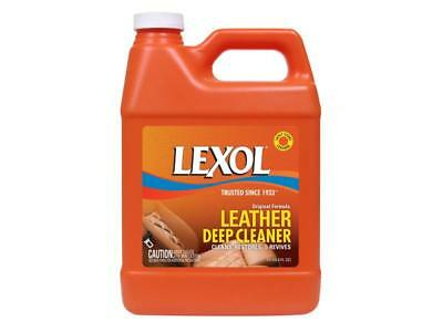 Lexol Leather Deep Cleaner 1 Liter Jacket Boots Sofa Couch Shoes Chaps Saddle