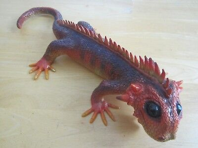 "Cool Lizard ~ Multi-Colored Toy Animal / Reptile ~ 18"" Long"