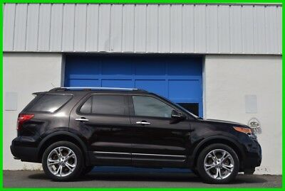 2014 Ford Explorer Limited Repairable Rebuildable Salvage Lot Drives Great Project Builder Fixer Easy Fix