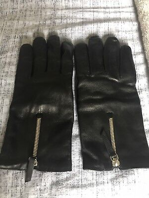 Mr Porter Leather Gloves