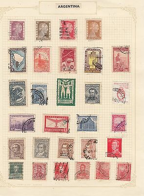 ARGENTINE Stamps Good Selection on page Most Fine Used