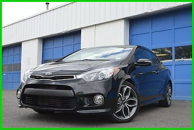 2015 Kia Forte SX UVO by Microsoft Cruise Bluetooth Streaming Rear View Camera All Power Excellent