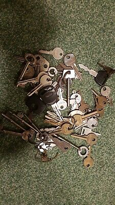 collection of old keys