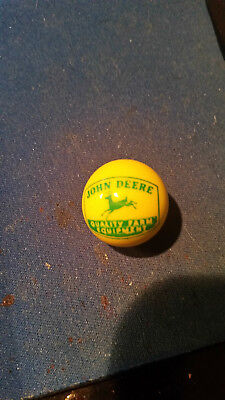 JOHN DEERE BIG MARBLE (1950's) GIVE AWAY ITEM. **FREE SHIPPING**